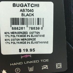 Bugatchi Underwear & Socks - BUGATCHI Multi Color Guitar Print Sock NWT